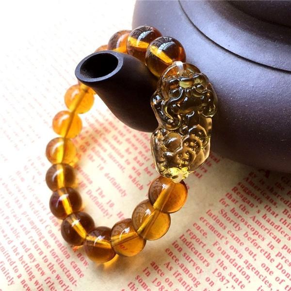 Crystal Bracelet, luckbead, wealthsymbolbracelet, Jewelry