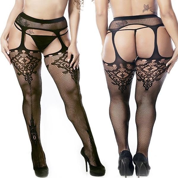 black, Plus Size, sexy lace, Lace