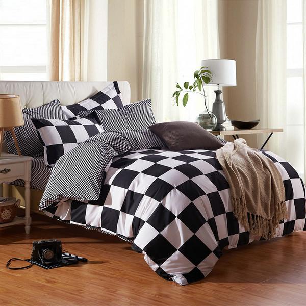 plaid, bedclothe, Home & Living, Bedding