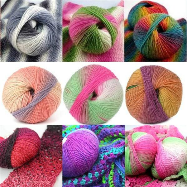 rainbow, wovenyarn, Fashion, Knitting