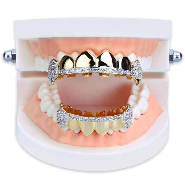 Grill, hip hop jewelry, topbottomgrillz, fang