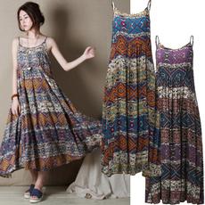 Sleeveless dress, dressesforwomen, ruffle, Summer