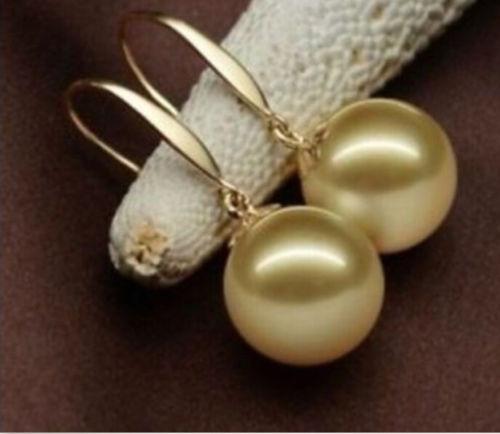 shells, Jewelry, gold, Earring