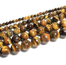 brown, roundbead, Jewelry, 8MM