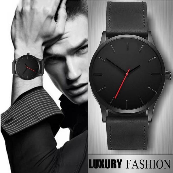 quartz, leather, quartz watch, Watch