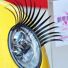 automotiveeyelashe, eye, carstickerdecal, eyelash