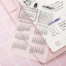 Scrapbooking, monthly, timeclock, Handmade