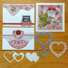 Heart, stencil, Scrapbooking, greetingcardsamppartysupply