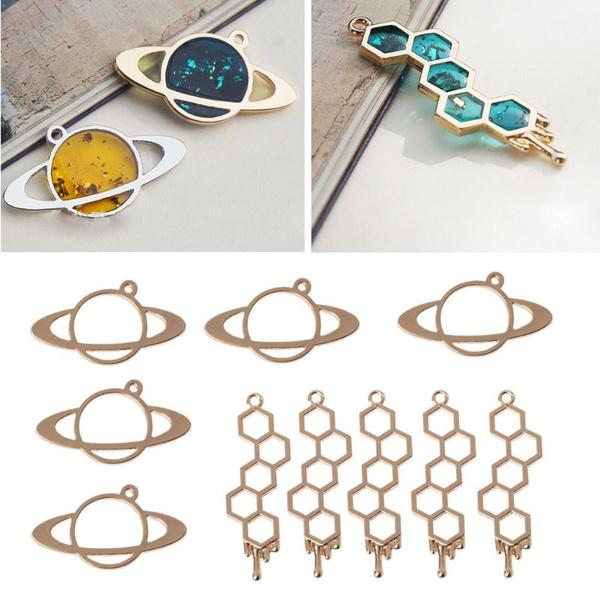 Jewelry, Jewelry Making, resinnecklace, uv