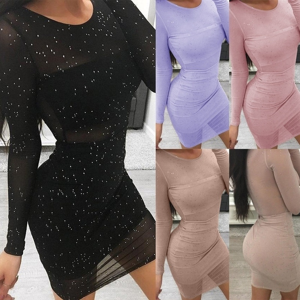 fashion women, Fashion, sleeve dress, Sleeve