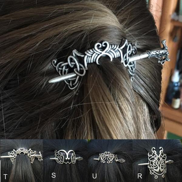 celtichairpin, norsevikinghairjewelry, hair jewelry, vikinghairpin