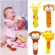 Toy, babyplushrattle, hangingbellbabytoy, Animal