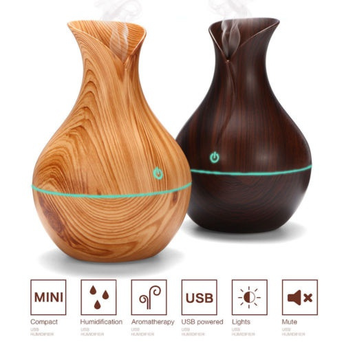 Aroma Essential Oil Diffuser Air Purifier LED Ultrasonic Aromatherapy Humidifier