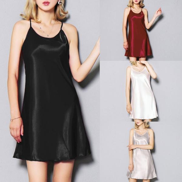 sexynightdre, Mini, Satin, Dress