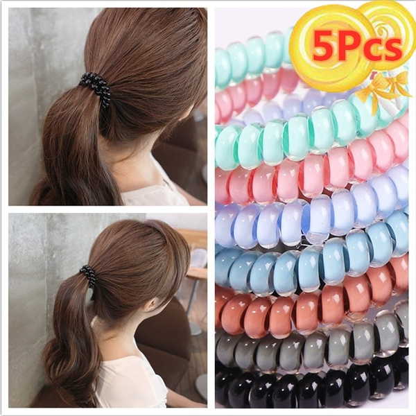 hairrope, Head, Elastic, candy color
