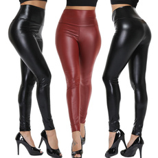 shiny leggings, Fashion, Waist, pantsforwomen