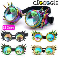 kaleidoscopeglasse, Goth, Fashion, Sunglasses