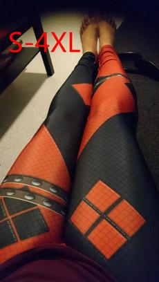 Polyester, Leggings, Fashion, high waist