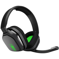 Headset, Video Games, Gray, Xbox 360