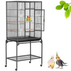 Animal, birdcage, Grey, birdsupplie