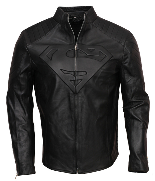 smallville, Fashion, supermanjacket, leather