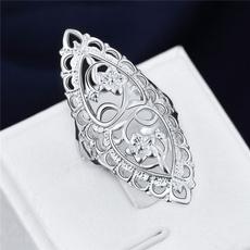 Sterling, cute, Fashion, wedding ring