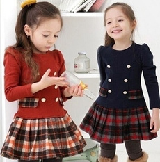 kidsdre, plaid, Princess, Sleeve