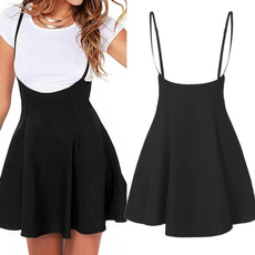 Mini, strapless, Waist, slim dress