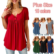 women clothes, Plus size top, Sleeve, Cool T-Shirts