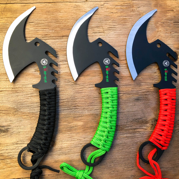 zombieknife, Survival, camping, fixedblade