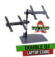 doublelaptopstand, laptopmount, jockey, Dj