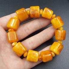 amber, purenaturalchickenoilyellowamberwax, Wax, Bracelet