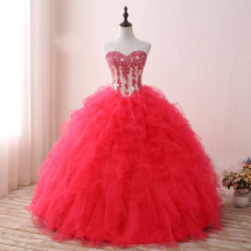 gowns, sweetheart, promgown, Rose