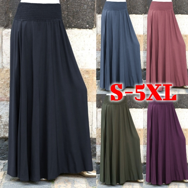 Summer, Plus Size, Fashion, Women Skirts