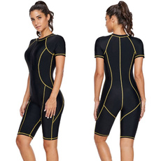 Plus Size, Sleeve, Zip, Athletics