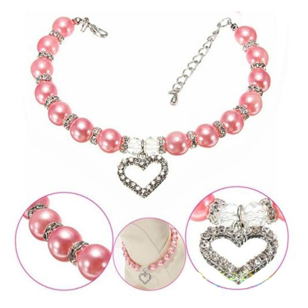 Heart, Bling, Jewelry, pearls