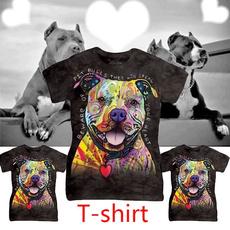 Summer, Fashion, Cotton T Shirt, Pets