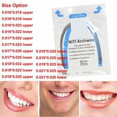 rectangulararchwire, orthodonticnitiwire, Elastic, archwire