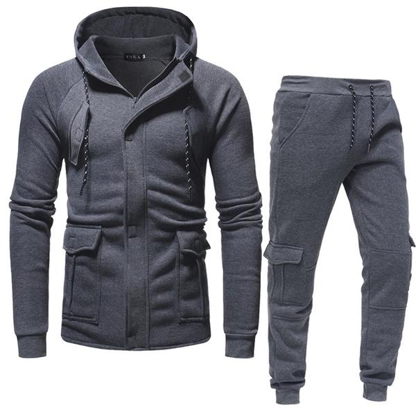 hooded, sport pants, cardigan, pants