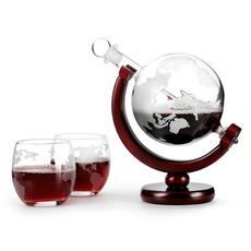decanterglobe, Antique, whiskeygla, globedecanter