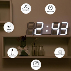 digitaldeskclock, led, Gifts, ledalarm