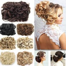 hairbun, clip in hair extensions, Hair Extensions, Beauty