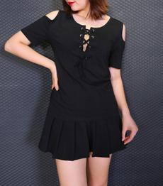 strapless, Plus Size, Shirt, Long Sleeve