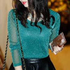 blouse, Mode, Bijoux, gold