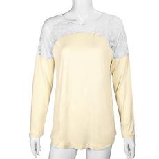 blouse, bowknot, Moda, Encaje