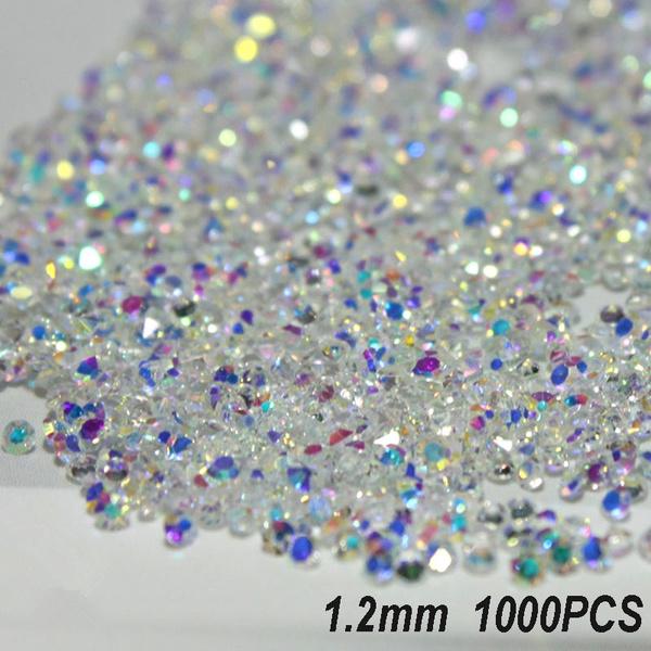 Mini, Decor, DIAMOND, nail tips