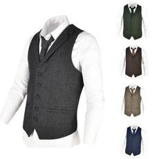menswaistcoat, Vest, woolvest, solid
