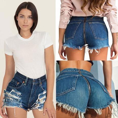 Tight Ass Short Shorts
