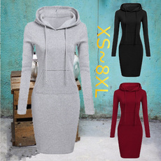 Mini, hooded, pullover hoodie, Pure Color