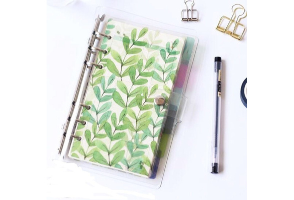 Pirate Notepad Inner Paper Plastic Ring Binder Notebook Paging Separator